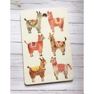 | Alpaca print serving board